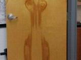 Frauliche Tür