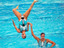 Wasserballett mit Skelett